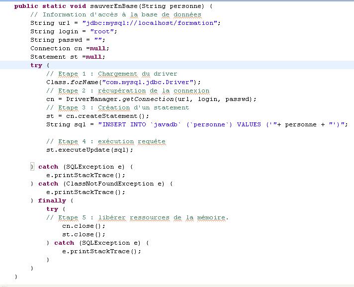 Tutoriel Java N 12 Acces Base De Donnees Mysql Objis Com