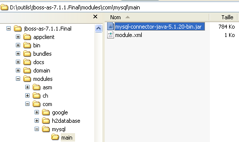 Tutoriel JBoss 7 : intégration base de données - objis com