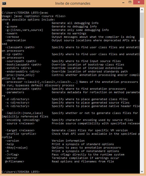 Tutoriel Java Installation Java Jdk 8 Objis Com