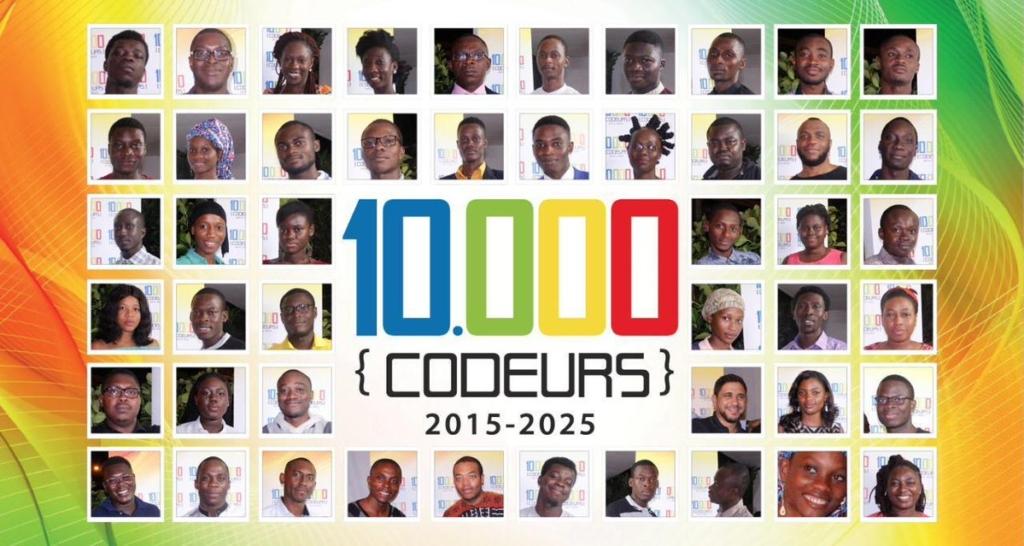 10000 codeurs : Autonomisation des jeunes et Femmes du Continent par les métiers du numérique