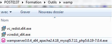 Installer WAMPSERVER 3 et créer sa première base de données