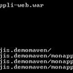 tutoriel-maven-multi-module-livrable-war-sans-gestion-dependances-domaine-dao-service