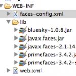 Structure du dossier WEB-INF/lib