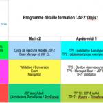 Programme détaillé JSF 2 avec Objis