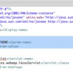 configuration du thème bluesky dans web.xml