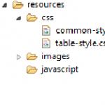 Ajout du fichier CSS