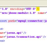 module-jdbc-mysql-xml